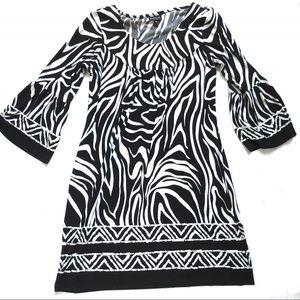 Enfocus Studio Dress Size 8 Womens Bell Sleeves